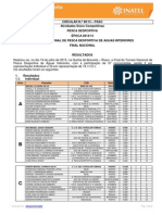 Inatel - Pesca Desportiva 2015 - Torneio Nacional de Pesca Desportiva de Águas Interiores