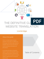 Definitive Guide to Website Translation_Lionbridge