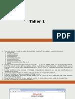 Capacitación PeopleSoft - Taller 1