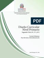 Curriculo Nivel Primario 2do Ciclo