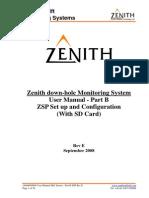 Zenith User Manual Mk2 Sensor