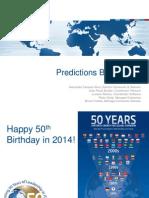 Predictions IT Brazil 2014 IDC