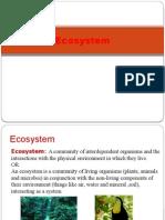 Unit I Ecosystems (1)