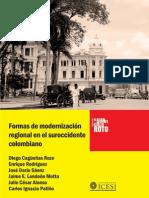 Jaime Eduardo Londoño Motta, Vapores y Ferrocarriles en La Configuración de Una Región Económica 1870-1974