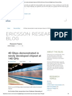 40 gbps demonstrated in newly developed chipset at 140 ghz   ericsson research blogericsson research blog