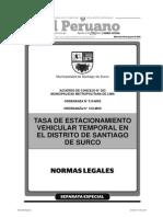 Separata Especial Boletín 19-08-2015 Normas Legales TodoDocumentos.info