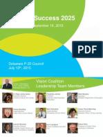 Student Success 2025