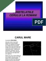 Constelatiile