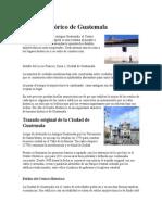 Centro Histórico de Guatemala histori