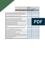 SAP UAT Check List
