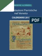 Calendario Fieristico 2015