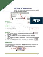 3. Word 2013 - Añadir, Insertar y Borrar Texto