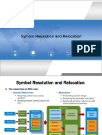 Symbol Resolution and Relocation