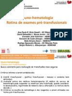 Imunohematologia+-+Exames+pre+transfusionais
