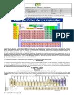 Guía Tabla Periodica