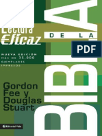 La Lectura Eficaz de La Biblia2007 Gordon Fee PDF