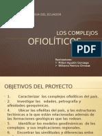 Complejos Ofiolíticos de La Cordillera Real