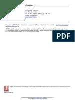 Tribus y Cacicazgos en América Central