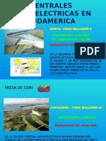 Centrales Hidroelectricas en Sudamerica