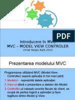 1.Modelul MVC