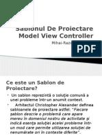 266426311 Sablonul de Proiectare Model View Controller