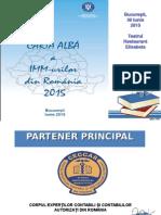 Prezentare Carta Alba 2015