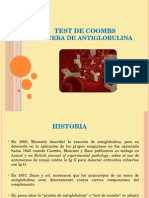 Test de Coombs - Prueba de Antiglobulina