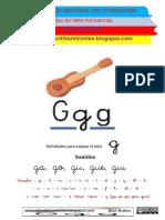 24. Lectoescritura Mian Brabur - LETRA G - Sonidos Ga, Gue, Gui, Go, Gu