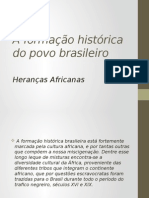 A Formação Histórica Do Povo Brasileiro