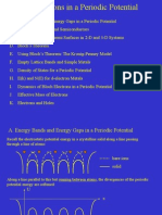 Periodic Potential of Electrons