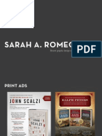 Sarah A. Romeo's Recent Design Work