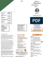 Newsletter Feb 2010