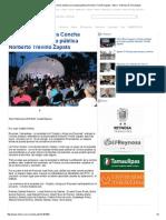08-19-2015 Pepe Elías Inaugura Concha Acústica en La Plaza Pública Norberto Treviño Zapata