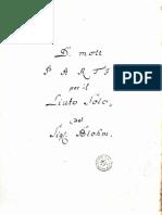 Brussel II 4089 - 11 - Blohm - Partie Per Il Liuto Solo - D Min