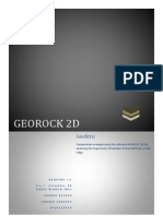 GeoRock 2D Tutorial