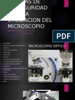 Medidas de Bioseguridad Para La Utilizacion Del Microscopio