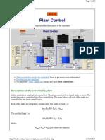 Techteach.no Simview Plant Control Index