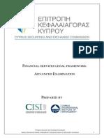 Cyprus Advanced Sylabi 2013