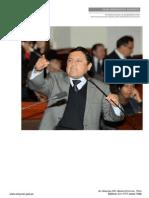 Congresista Elías Rodríguez Zavaleta presenta Proyecto de Ley para crear el Distrito Electoral de Los Peruanos Residentes en El Extranjero