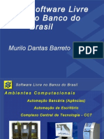 Software Livre No Banco Do Brasil