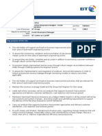 Openreach Revenue Assurance Analyst EventAssurance_280314