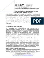 Edital Poscom-ufes Aluno Regular 2016.1