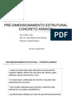 Predimensionamento Concreto Armado - Apostilas - Arquitetura
