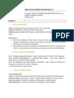 Programa Oficial Semana Uv 2015