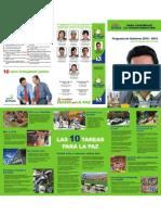 Plan de Gobierno Lucho (Resumen Ejecutivo)
