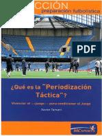 Que Es La Periodizacion Tactica