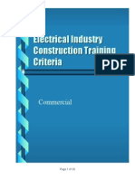 ECP ElectricalIndustryContructionTrainingCriteria