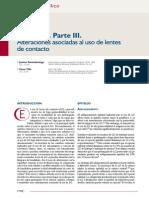 Cornea parte 3 alteraciones asociadas al uso de lentes de contacto