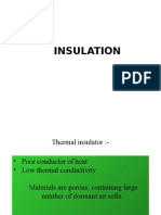 Insulation .