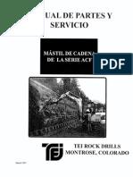 Manual de Partes y Servicio Viga TEI ACF